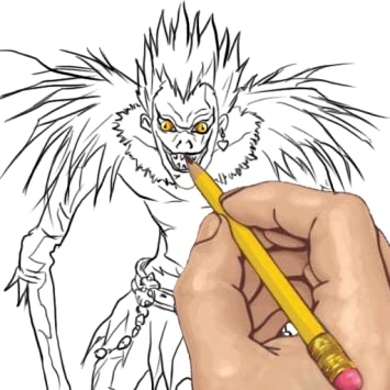 How To Draw Death Note Anime Characters