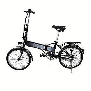 Be Nomad mobi102 Bicicleta eléctrica Plegable 20 Pulgadas Negro