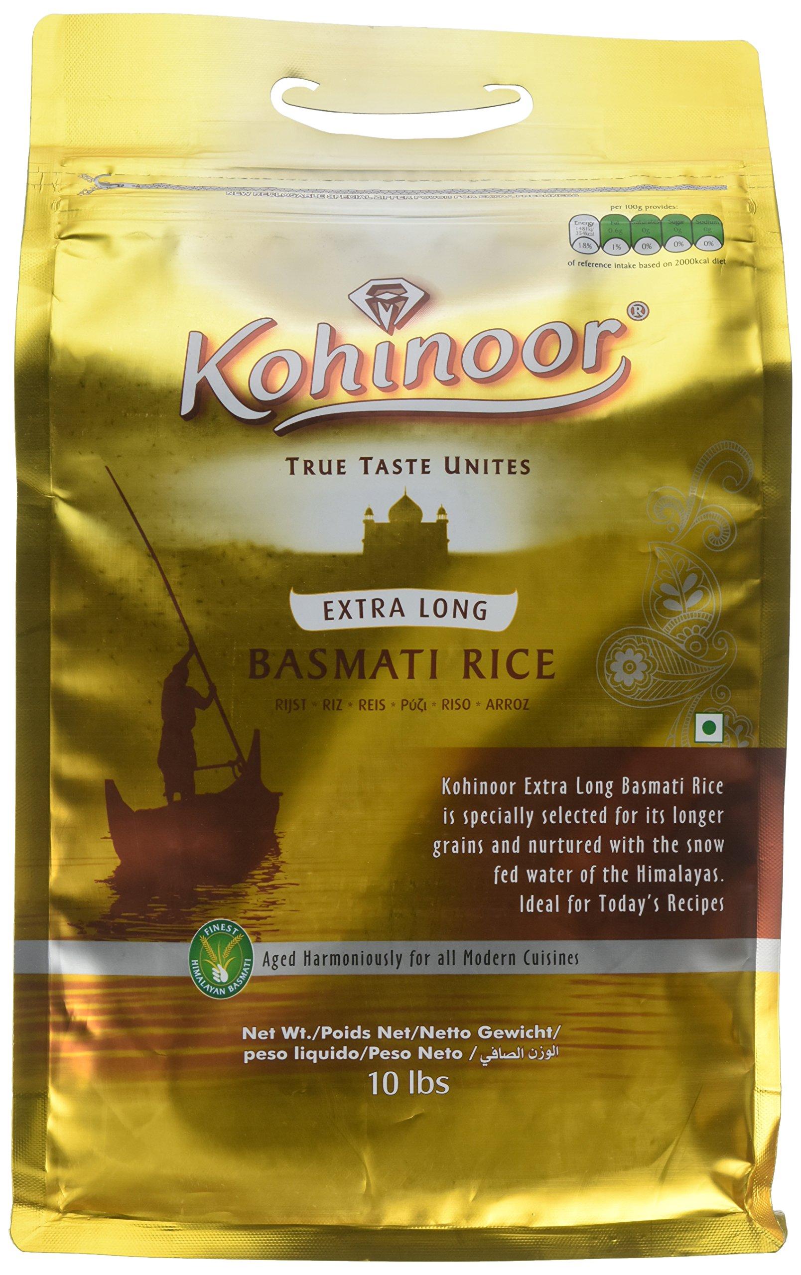 Kohinoor Gold Basmati Rice 10 Lbs by Kohinoor