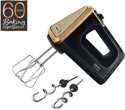 Krups 3 Mix 5500 GN5058 Batidora de mano, 500 W, Negro/cobre ...