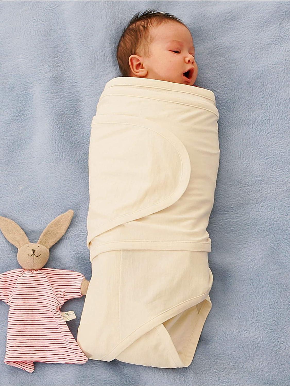 hessnatur Baby M/ädchen und Jungen unisex Pucktuch aus reiner Bio-Baumwolle