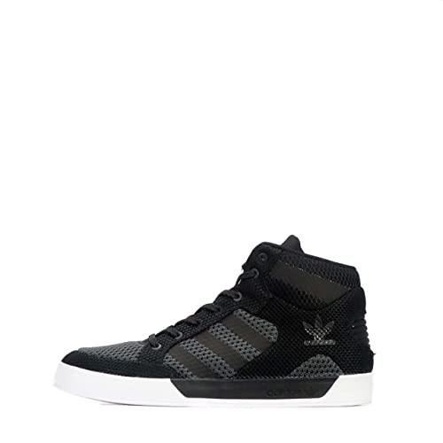 outlet store sale f75ac 0decf adidas Adidas Originals Hard Court Hi Knit - Zapatillas de Malla para  Hombre Negro Negro Blanco 41 1 3 EU, Color Negro, Talla 42 EU  Amazon.es   Zapatos y ...
