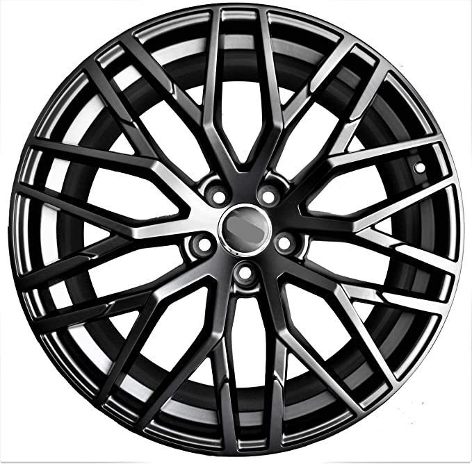 Amazon Com 21 Inch Black Wheels Rims Full Set Of 4 Fit For Audi
