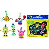 Spongebob Squarepants - 5 figure playset (Spongebob, Patrick, Squidward, Mr. Crabs, & Plankton) by Nickelodeon