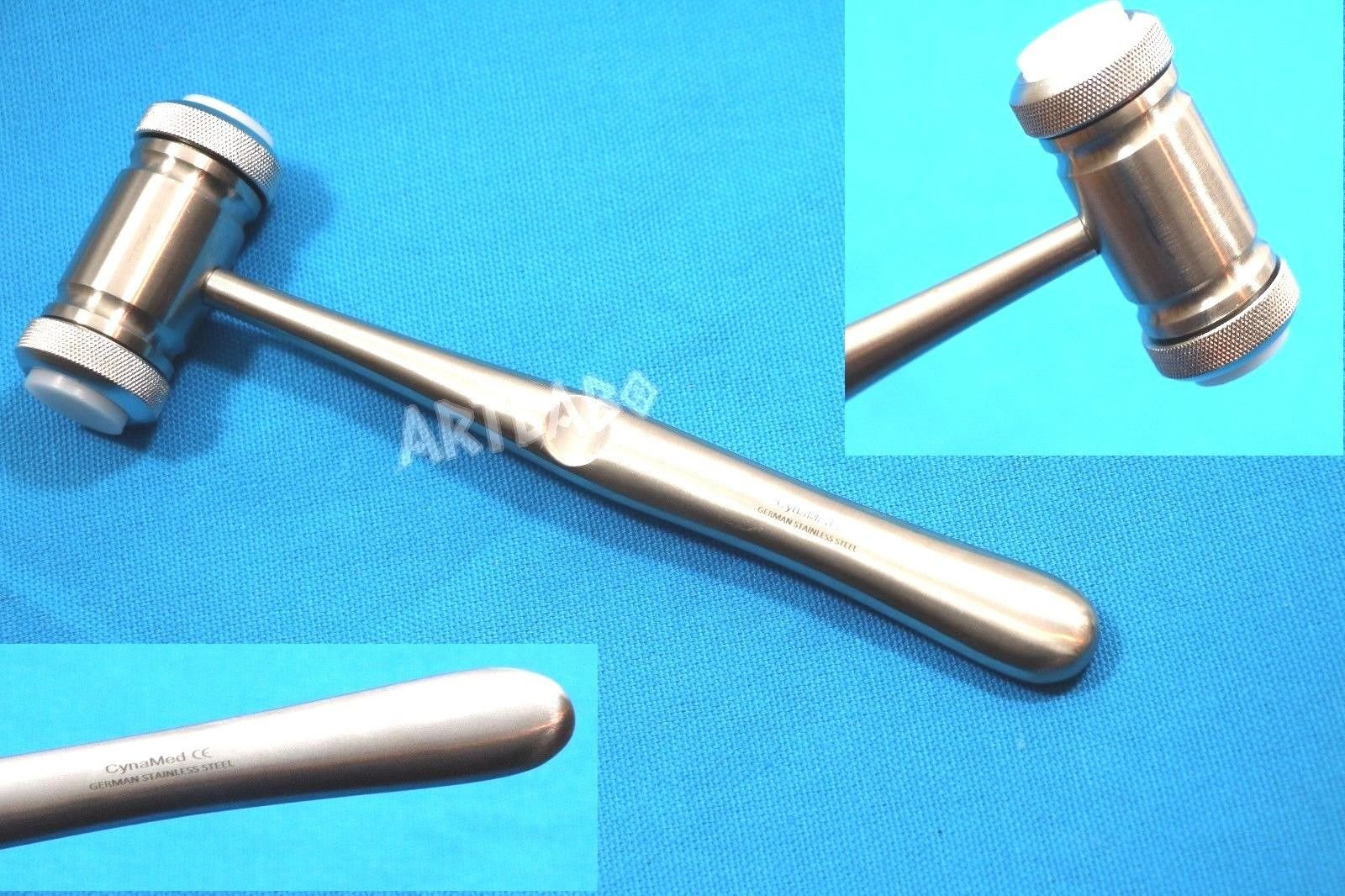 GERMAN 1 EACH Mead Mallet Bone Implant Sinus Lift Hammer Osteotome Dental Surgical Orthodontics Instrument ( CYNAMED )