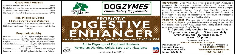 Amazon.com: dogzymes Digestivo Enhancing mascota Suplemento ...