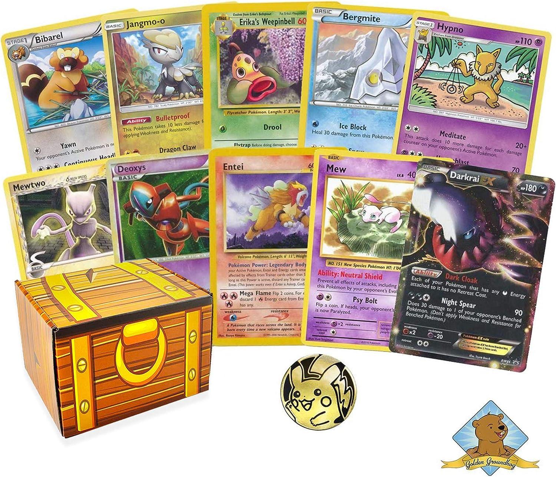 Pokemon Cards 50 bulk lot Guaranteed FULL ART GX//EX 9 rare//shiny great gift