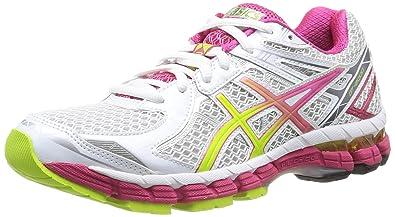 ASICS T3P8N 0105, Damen Laufschuhe, Mehrfarbig WHTLimeRaspb Größe: