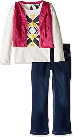 More Available Styles Girls Fashion Top Vest and Pant Set