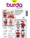 Burda B7903 Patron de Couture Habits de Poupée 19 x 13 cm
