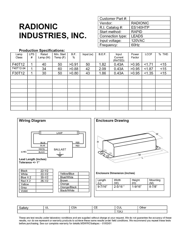 F96t12 Ho Ballast Wiring Diagram Enthusiast Diagrams Wh5 120 L Fulham Balast Elsalvadorla Fluorescent Ge T12