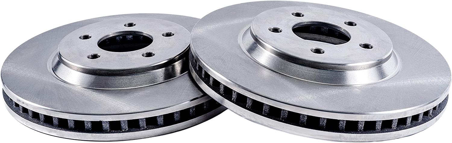 293mm Premium FRONT Brake Rotors for 2005-2010 Ford Mustang Front V6 4.0L 11.54 Detroit Axle