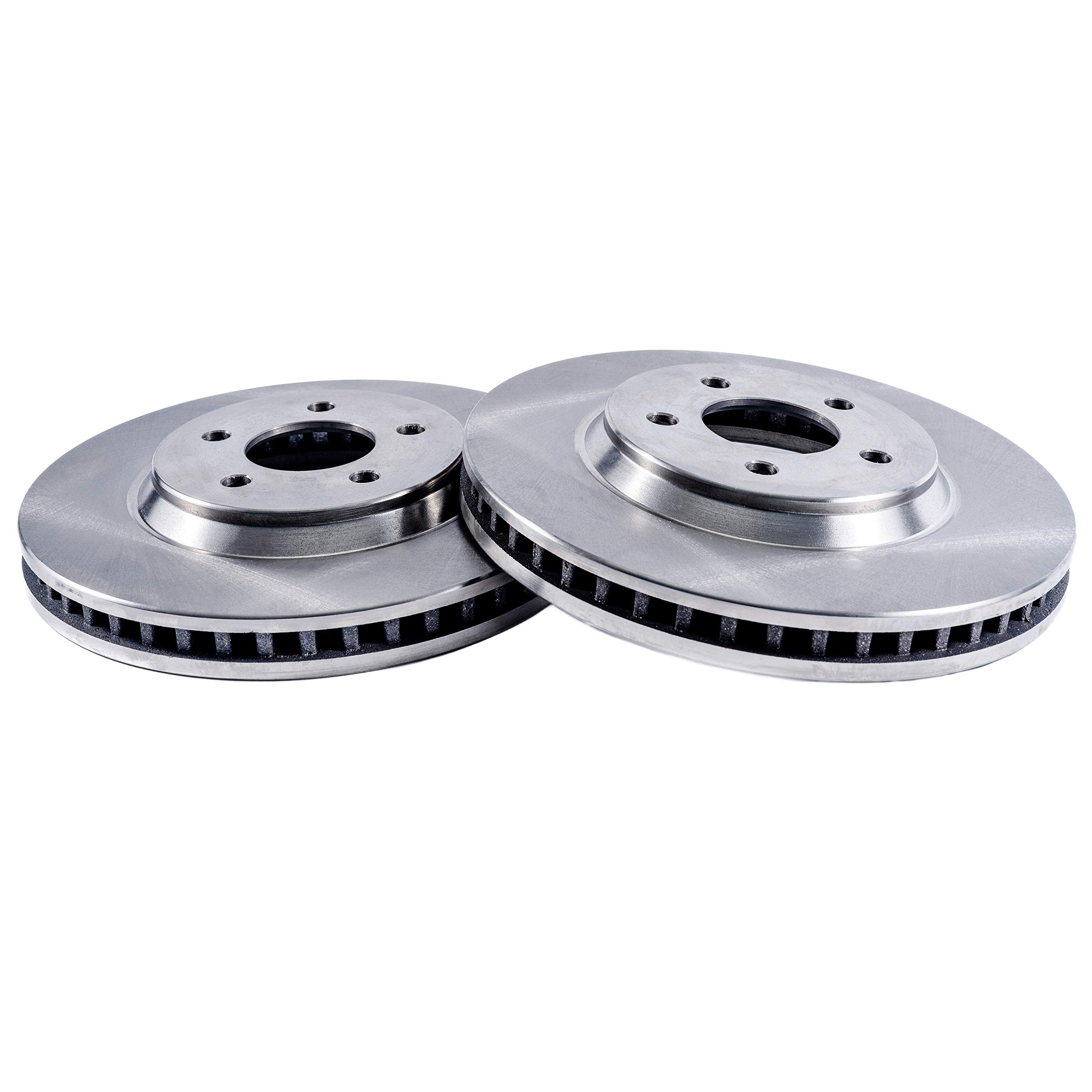 Detroit Axle - 11.81'' 300mm Premium FRONT Brake Rotors for CHECK VEHICLE FITMENT CHART