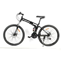 PedalEase Military Folding Mountain Bike Black
