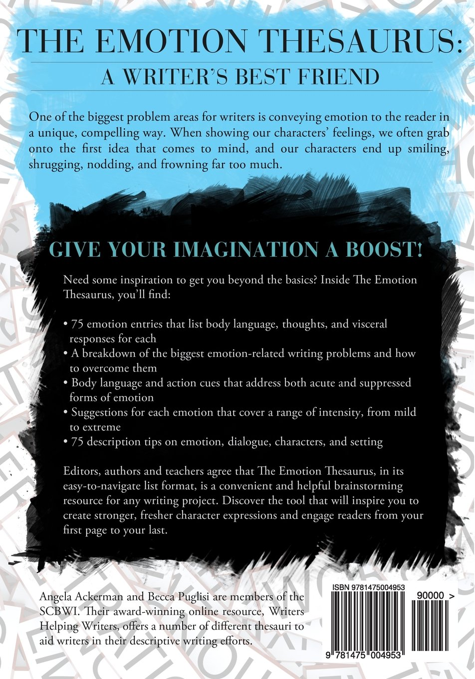 And to start your imagination and boost some inspiration in you we - The Emotion Thesaurus A Writer S Guide To Character Expression Angela Ackerman Becca Puglisi 9781475004953 Creative Writing Composition Amazon