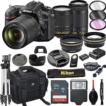 Nikon D7200 cámara réflex Digital con Lentes VR de 18-140 mm ...