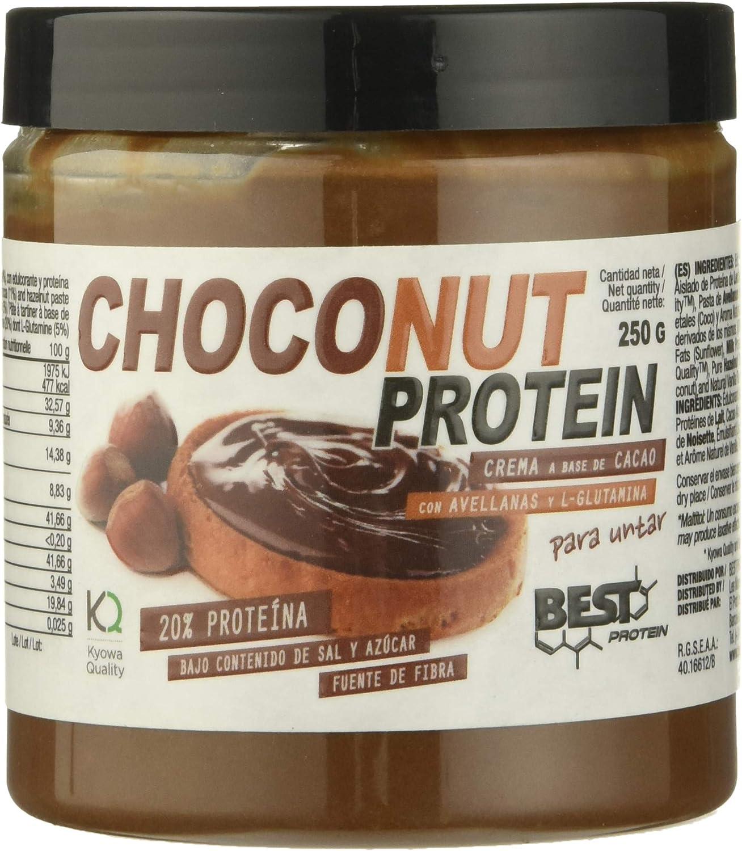 Best Protein Choco Nut Crema - 250 gr: Amazon.es: Salud y ...