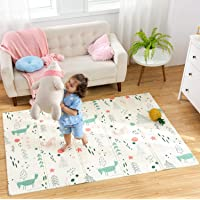 """Infant Shining Baby Play Mat, 58""""x78"""",0-6 Years Old Baby,Foldable Mat, Waterproof and Antislip Mat (58in*78in, Little…"""