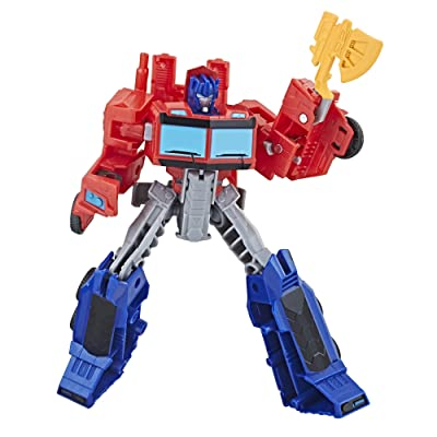 Transformers Cyberverse Warrior Class Optimus Prime: Toys & Games