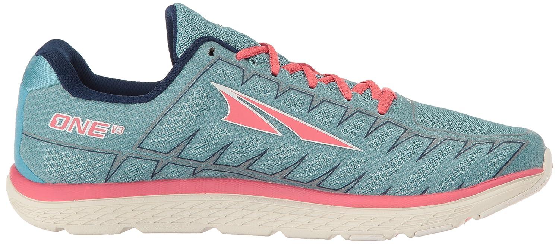 Altra One V3 Women's Road Running Shoe B01NALODOZ 9.5 B(M) US Light Blue/Coral