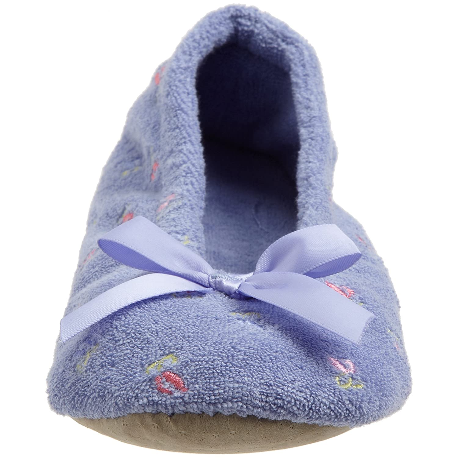 Isotoner Womens Embroidered Ballerina