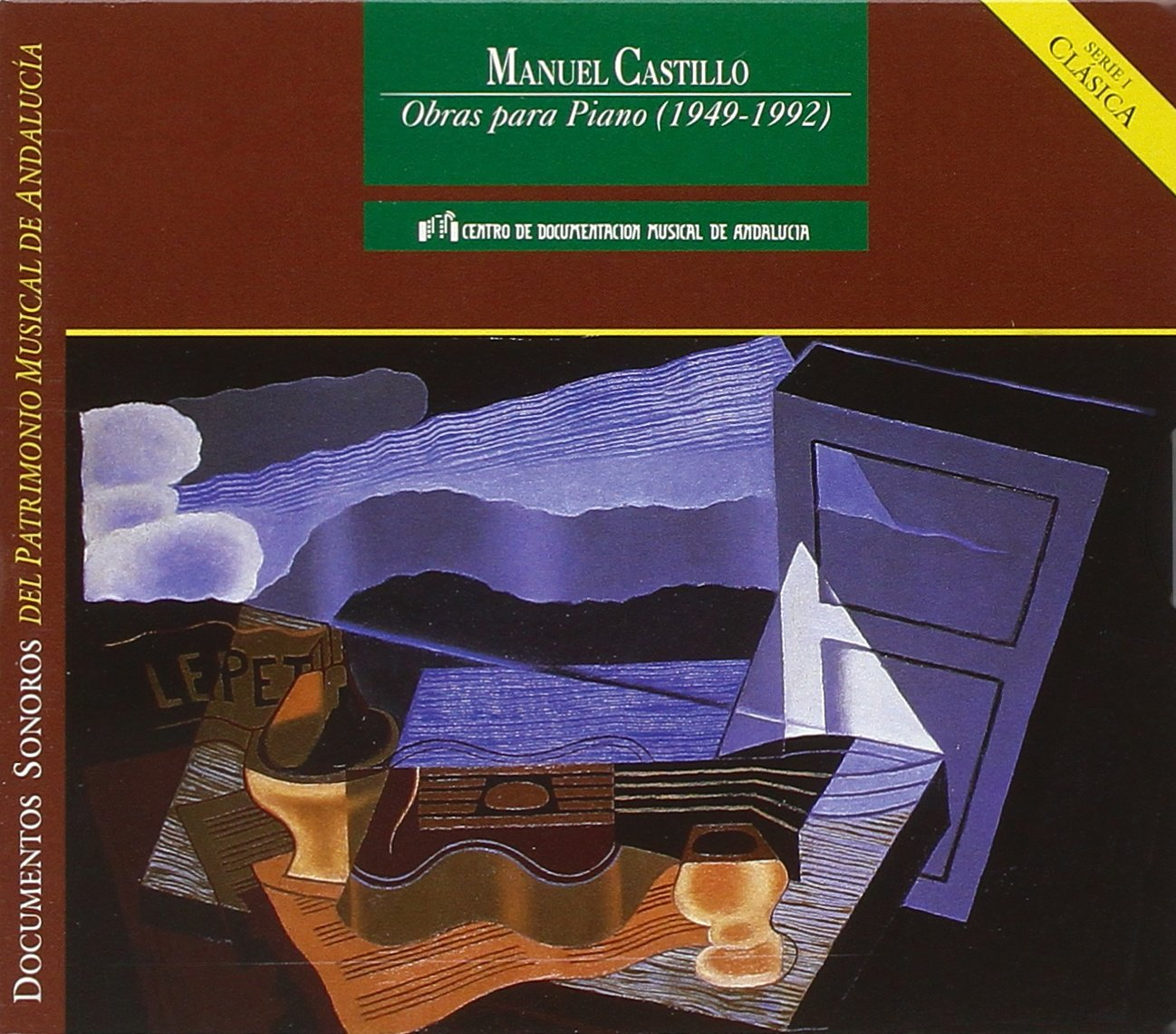 Amazon.com: Castillo Manuel B.1930- Piano Works: Sonatina ...
