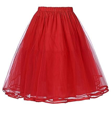 Yafex Enaguas Para Vestido, Años 50, Para Boda Tres Colores 177ES: Amazon.es: Ropa y accesorios