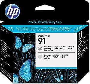 C9463A (HP 91) Printhead, Black/Light Gray