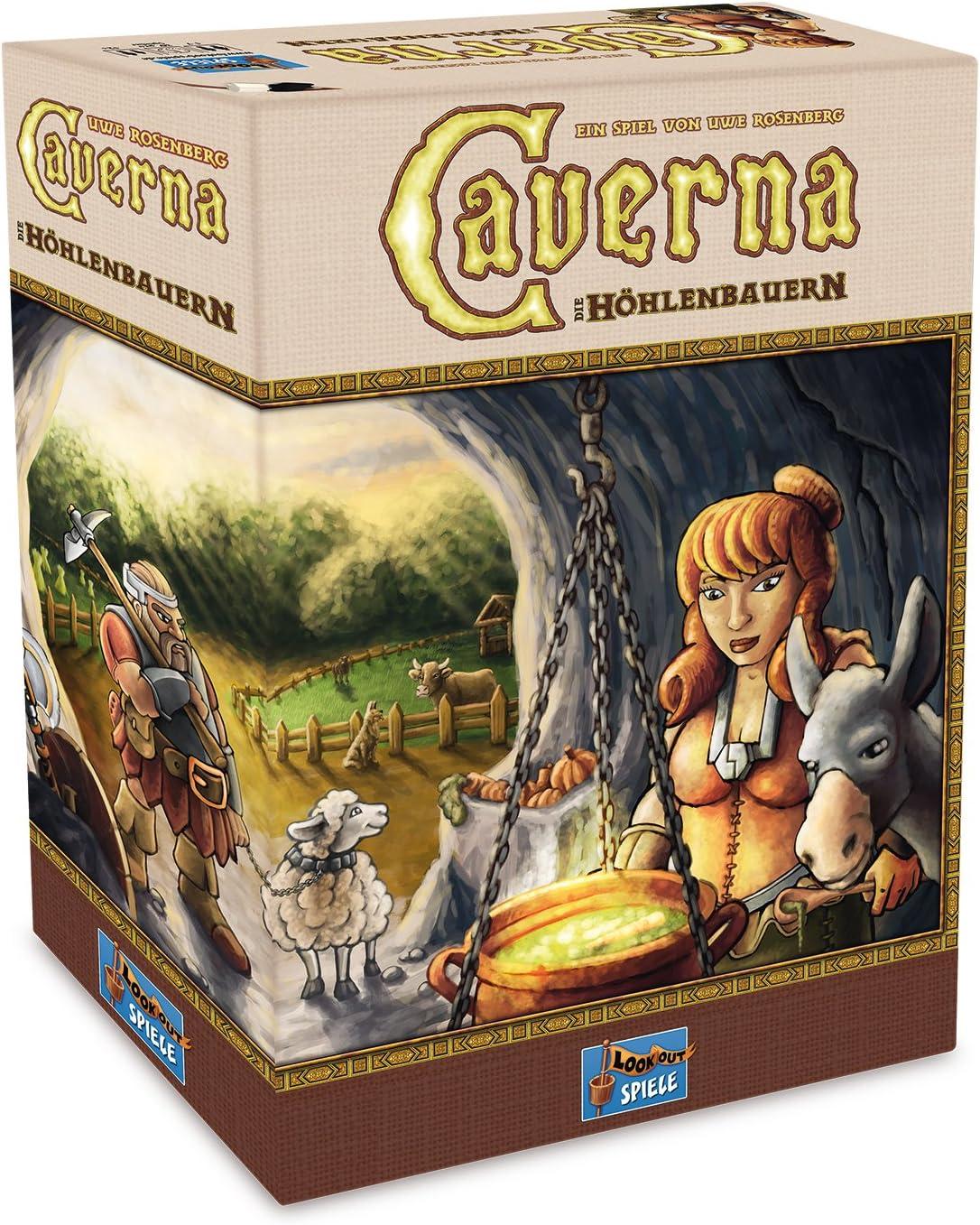 Lookout Games 22160070 – Caverna, iniciados Parte de Uwe Rose ...