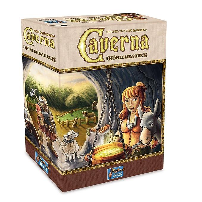Lookout Games 22160070 Caverna, Kennerspiel von Uwe Rosenberg