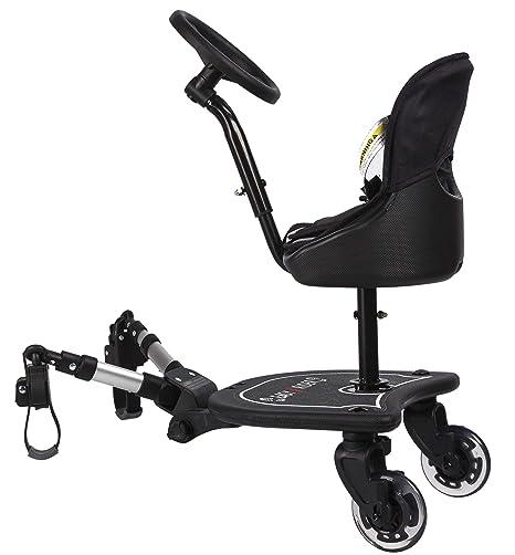 Easy X2 Rider Sit N Ride - Silla de paseo universal con 2 ...