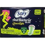 Sofy Antibecteria Overnight XXL (20 Pads)