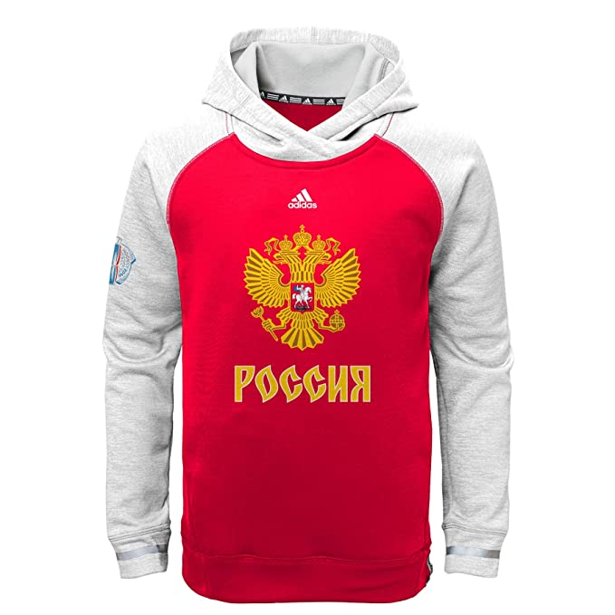 uk availability sale retailer order online Amazon.com: adidas Russia Hockey Youth World Cup of Hockey ...