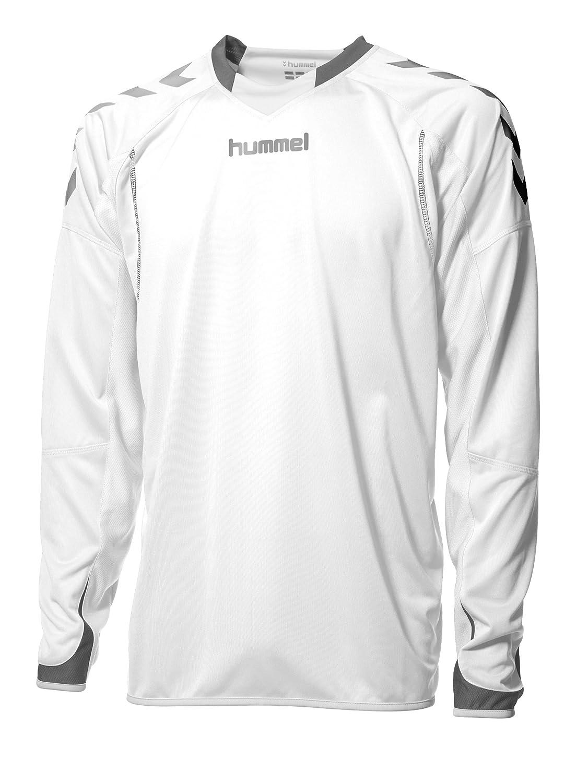 Hummel Herren Trikot Team Spirit Poly Jersey Long Sleeve white XXL 04-097-9001_9001