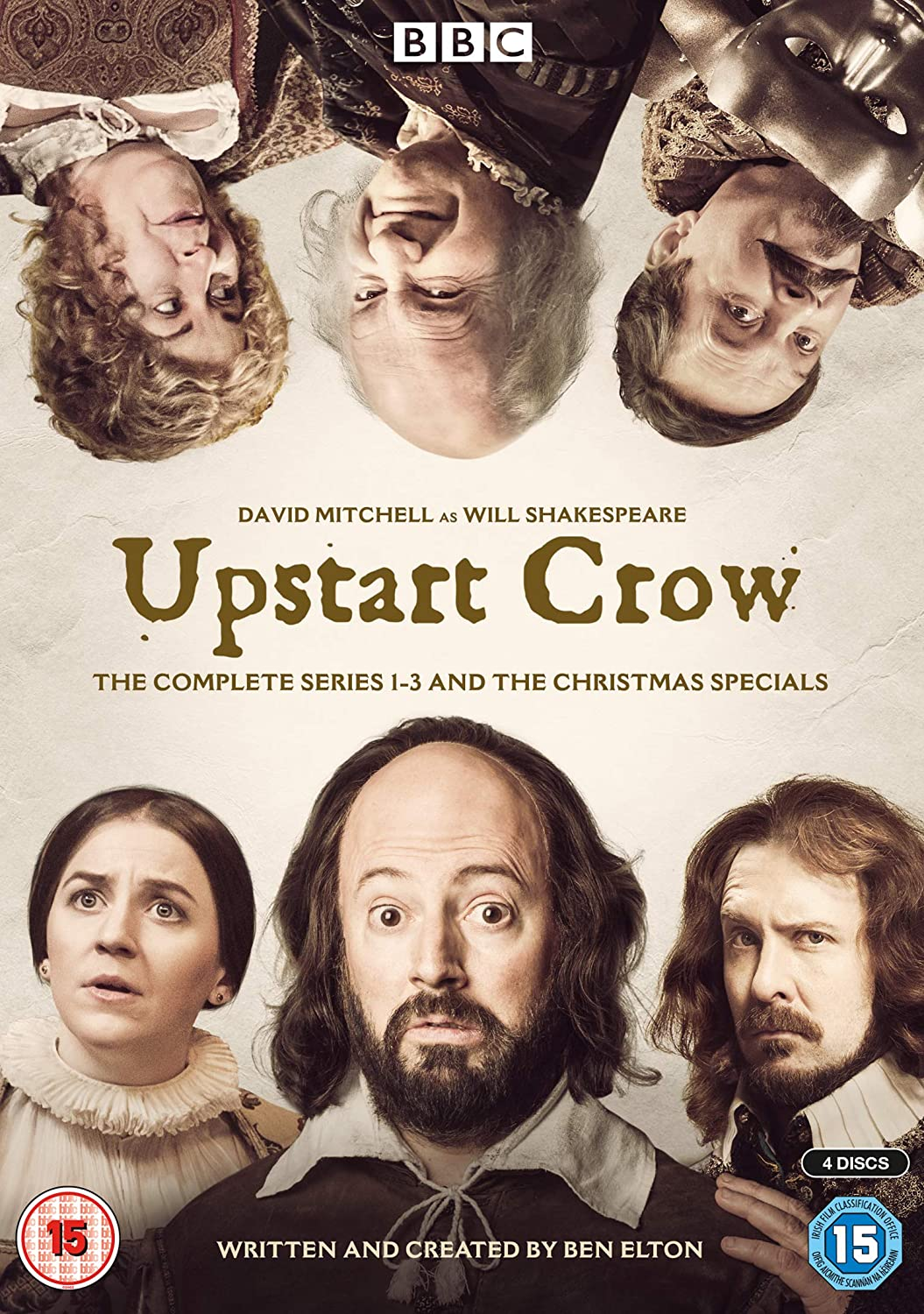 Upstart Crow: Series 1-3 & Christmas Specials Boxset