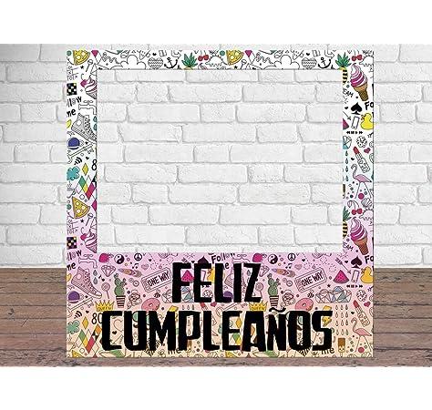 Photocall Feliz Cumpleaños 100 x100 cm | Regalos para ...