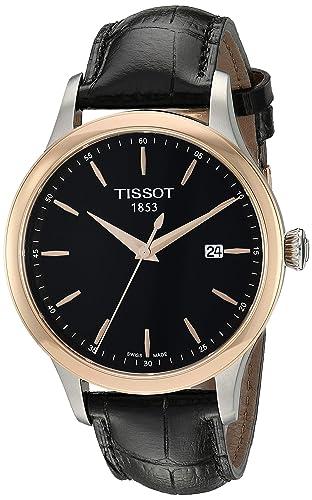Tissot T9124104605100 - Reloj de Pulsera Hombre, Color Negro: Amazon.es: Relojes