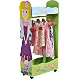 Liberty House Toys Fairy Dress Up Storage Centre with Hangers, 63 x 28 x 120 cm, Various Pinks