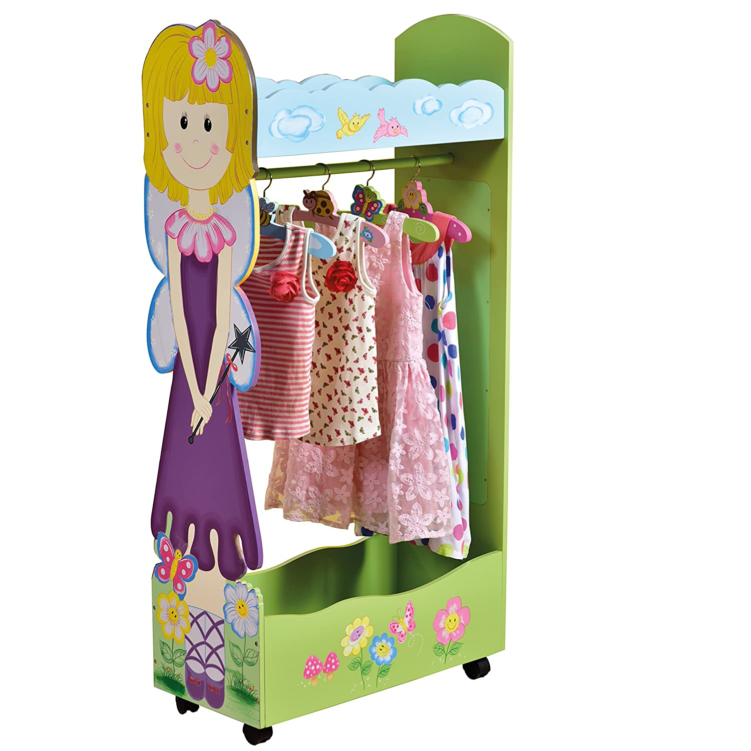 Amazon.com: Liberty House Toys Fairy Dress Up Storage Centre With Hangers,  63 X 28 X 120 Cm, Various Pinks By Liberty House Toys: Appliances