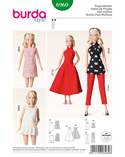 "Clothes for 11.5"" Fashion Dolls Such As Barbie, Midge"