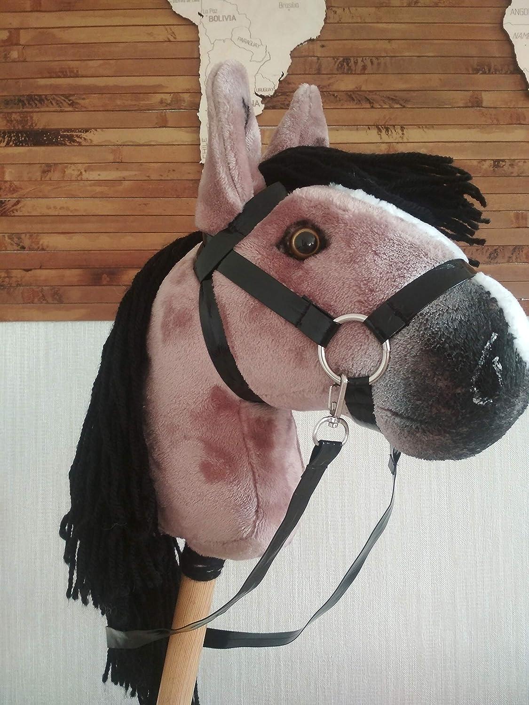 Stick horse for children Hobby horse for kids Chestnut hobby horse