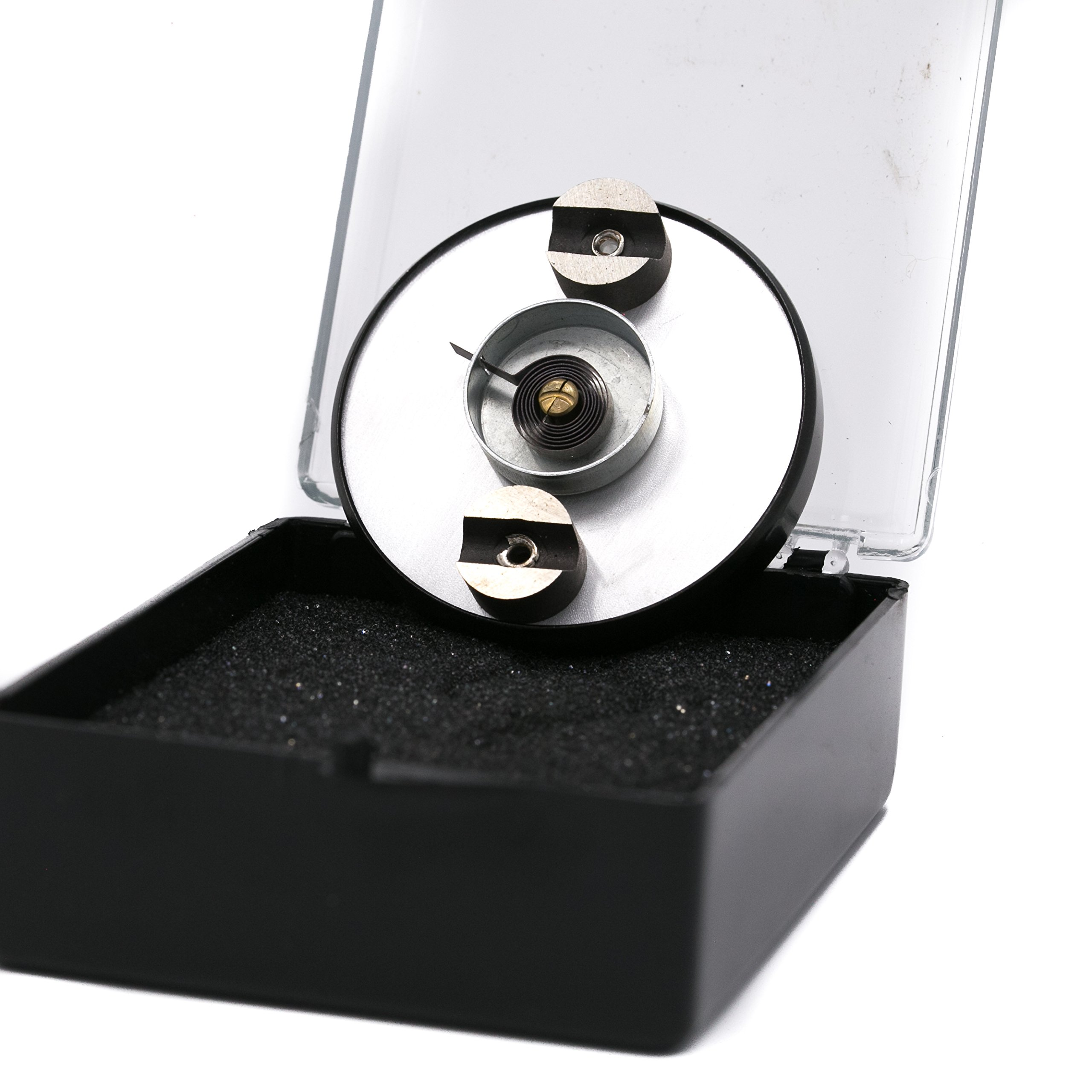 PIC Gauge B2MS-S 2'' Dial Size, 150/750°F, Surface Mount, Magnetic Connection, Black Steel Case Surface Mount Thermometer