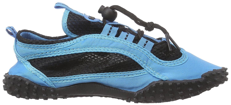 Badeschuhe, Aquaschuhe, Surfschuhe 174501 Unisex-Erwachsene Aqua Schuhe, Blau (blau 7), EU 38 Playshoes