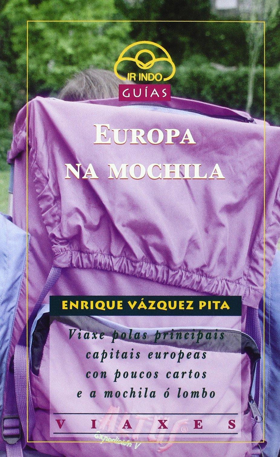 Europa na mochila (Galician) Paperback
