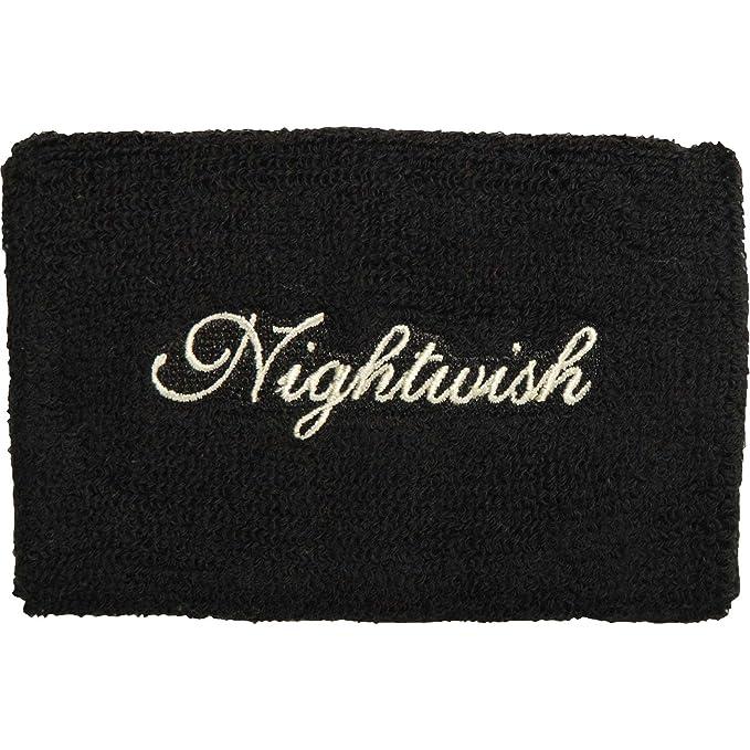 Nightwish Men s Logo Athletic Wristband Black  Amazon.ca  Clothing    Accessories 856583e52