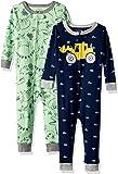 Carter ' s 婴儿男孩2件装棉质睡衣