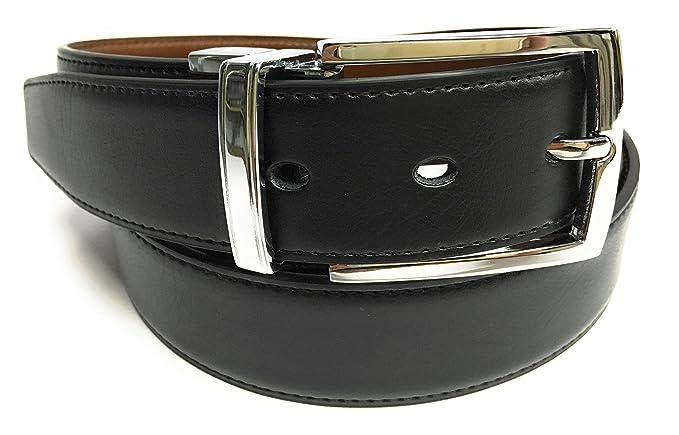 Cinturon De Piel Reversible negro y marron  Amazon.es  Zapatos y ... da86c60208fd