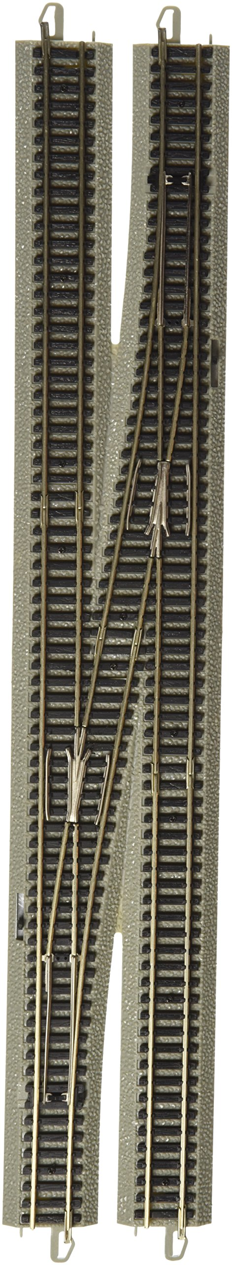 Bachmann Industries E-Z Track 6 Single Crossover Turnout - Right (1/Card) N Scale