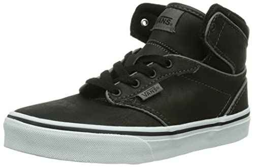Reasonable Price Vans Unisex Kids' Y ATWOOD HI LEATHER High-top trainers