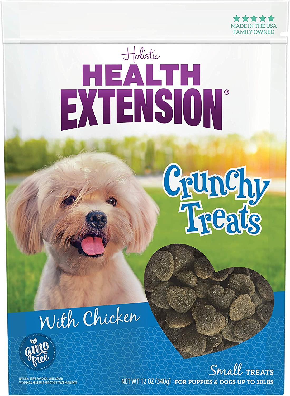Health Extension Heart Shaped Natural, Small